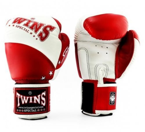 Twins Boxing Gloves BGVL 10 White/Red