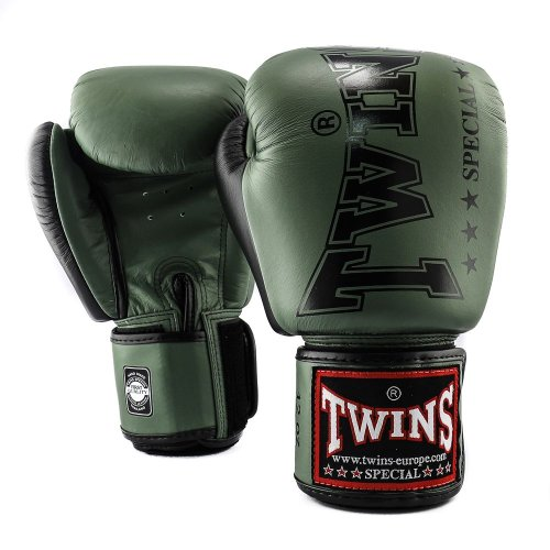Twins Boxing Gloves BGVL 8 Green