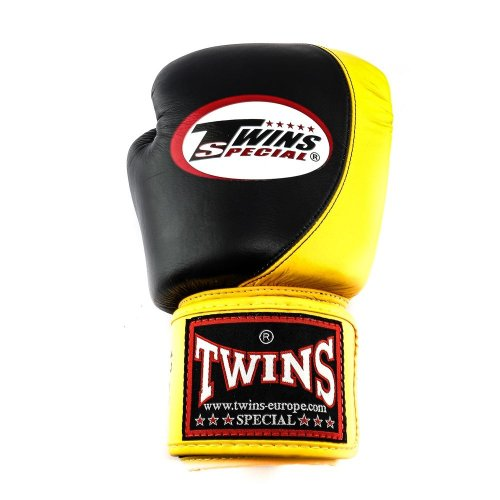 Twins Boxing Gloves BGVL 9 Black/Yellow
