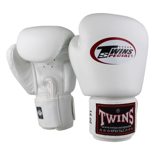 Twins Boxing Gloves BGVL 3 White