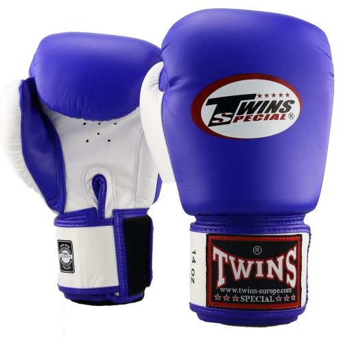 Twins Boxing Gloves BGVL 3 Blue/White