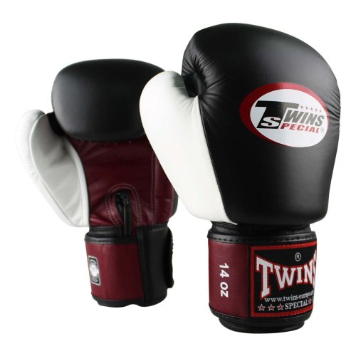 Twins Boxing Gloves BGVL 4 Black/Red/White