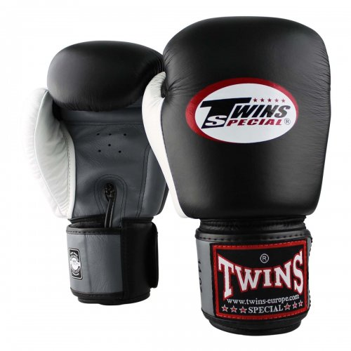 Twins Boxing Gloves BGVL 4 Black/Grey