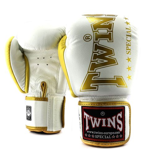 Twins Boxing Gloves BGVL 8 White