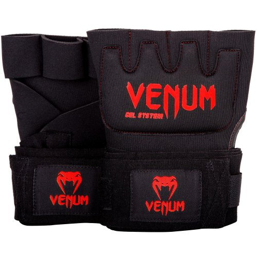 Venum Gel Hand Wraps Kontact Black/Red