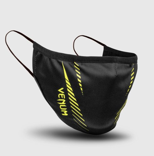 Venum Face Mask Pro Team Black/Neo Yellow