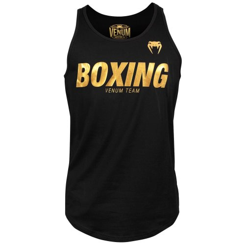 Venum Tank Top Boxing VT Black/Gold