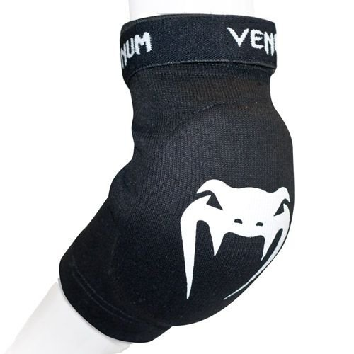 Venum Elbow Guards Kontact Black/White