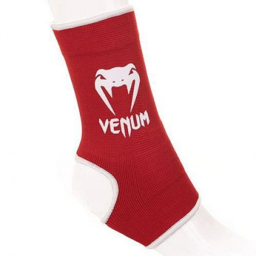 Venum Ankle Guards Kontact Red