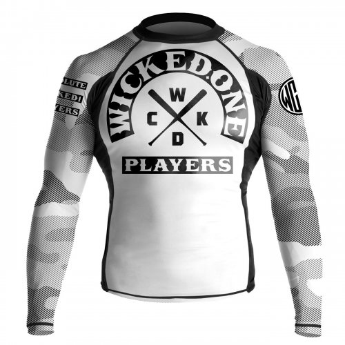 Wicked One Rashguard Rowdy White