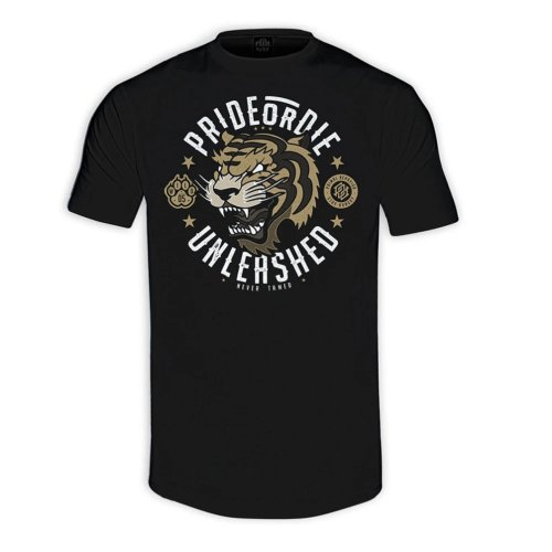 Pride or Die T-Shirt Unleashed Black