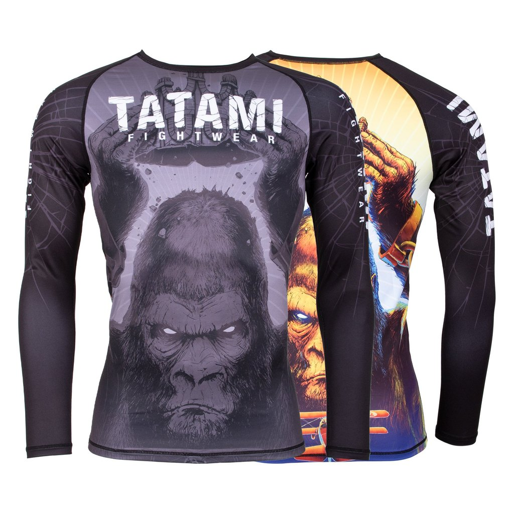 Tatami Fightwear Rashguard Super Grappling Rash Guard per Jiu Jitsu MMA Fitness