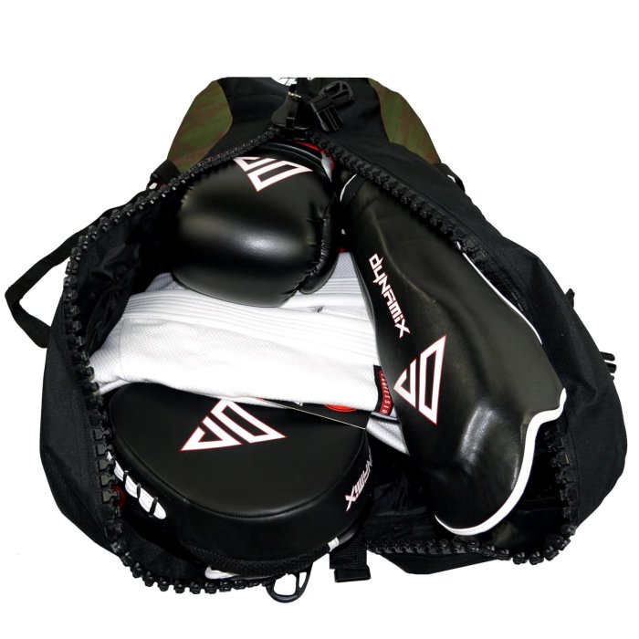 Dynamix Athletics 2in1 Gear Bag Division Schwarz/Camo