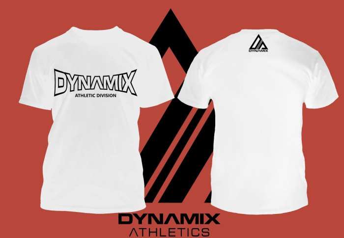 Dynamix Athletics T-Shirt Athletic Division - Weiß