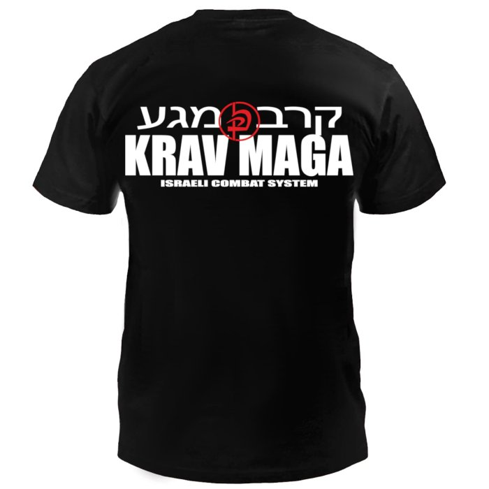 Dynamix Athletics T-Shirt Krav Maga Combat - Black