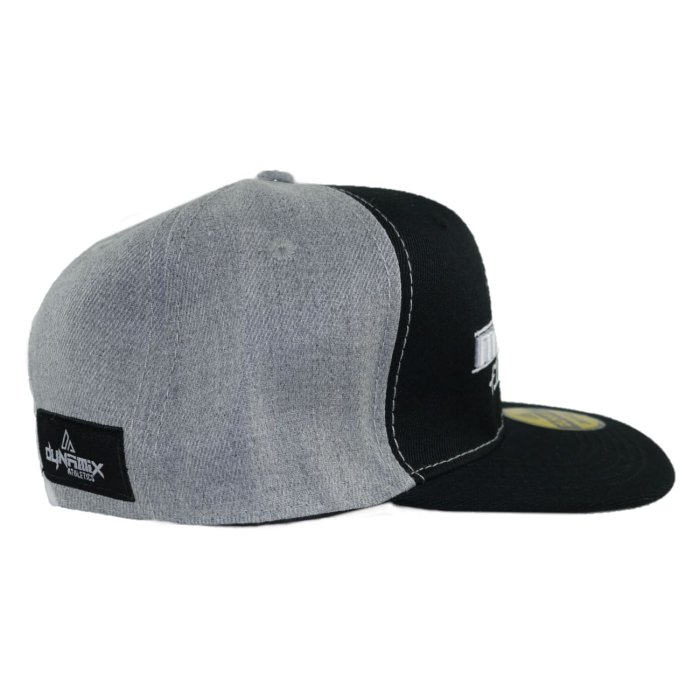 Dynamix Athletics Snapback Cap Muay Thai - Black/Grey