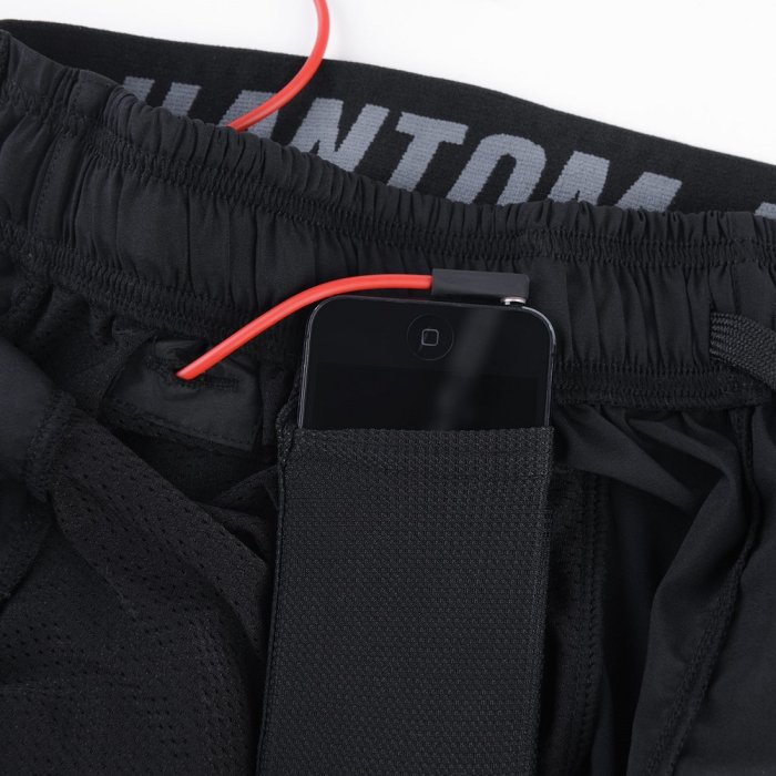 Phantom Athletics Training Shorts Tactic - Schwarz