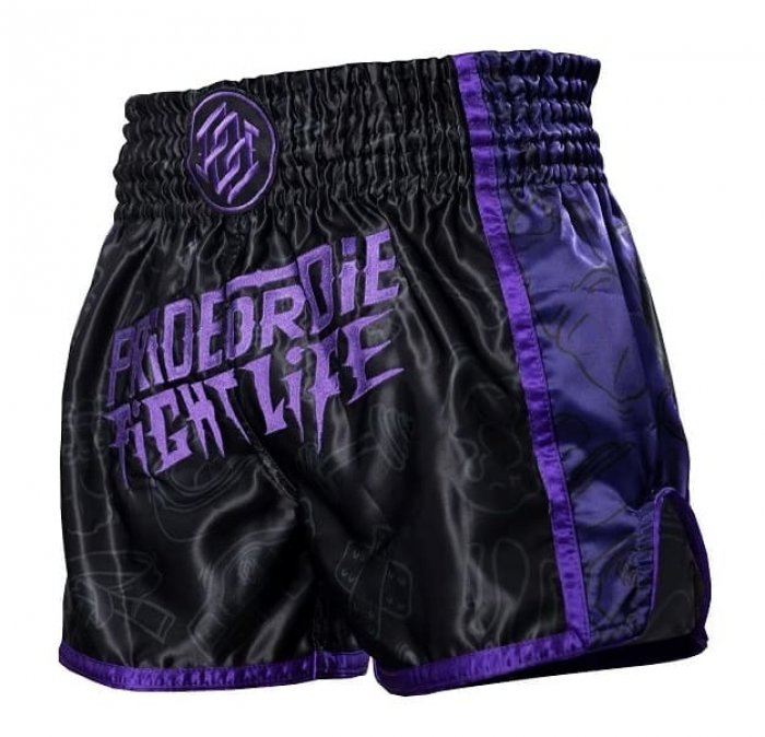 Pride or Die Muay Thai Shorts Fight Life