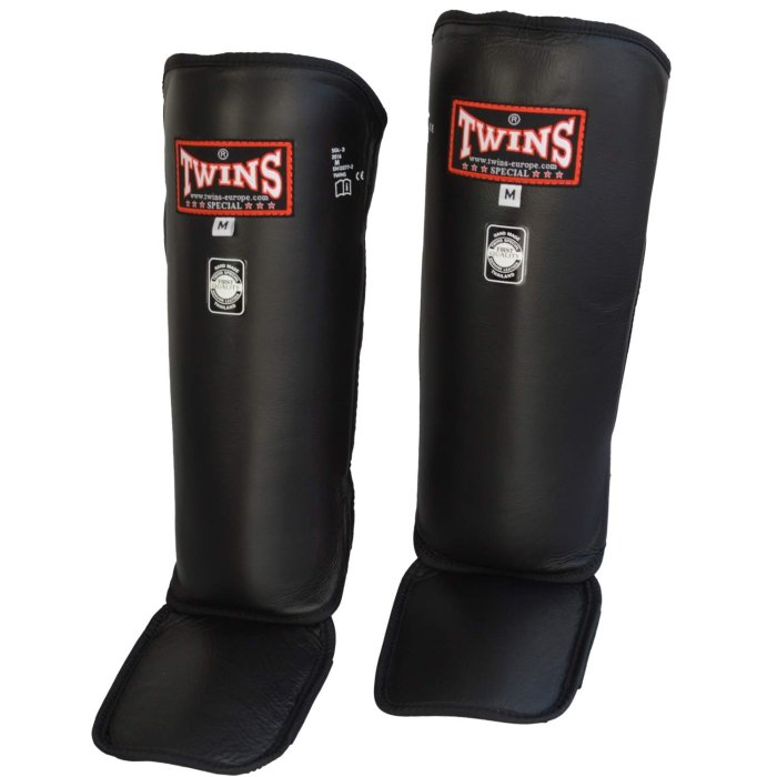 Twins Special Shin Guards SGL-3 Leather