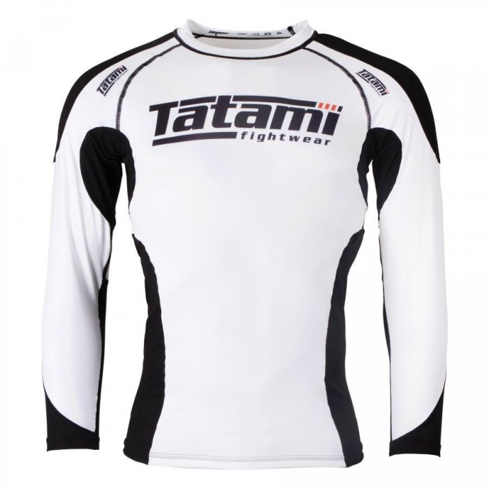 Tatami Fightwear Rashguard Technical Weiß
