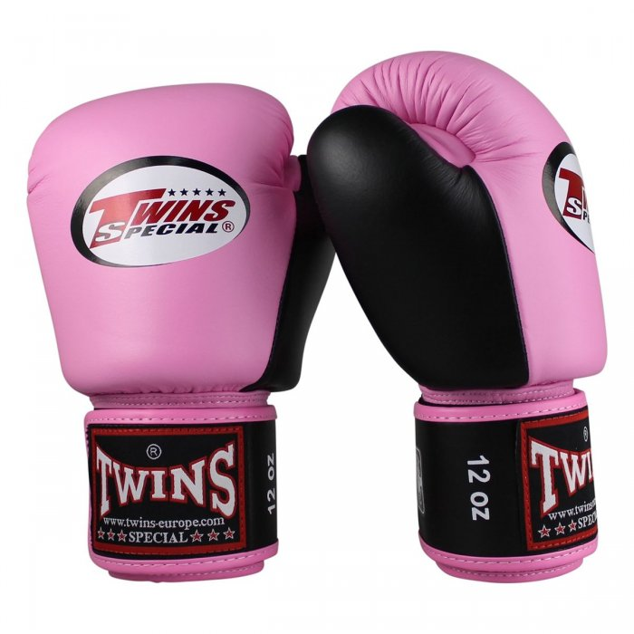 Twins Boxing Gloves BGVL 3 Black/Pink