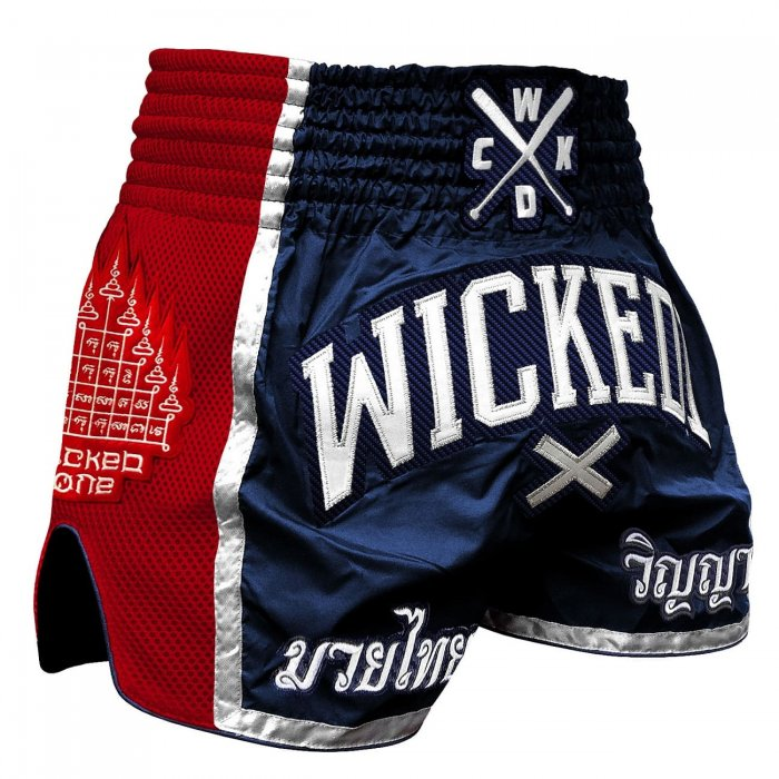 Wicked One Muay Thai Shorts Flag