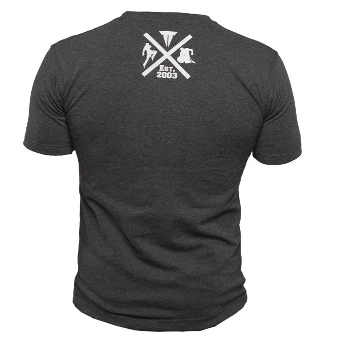 Throwdown T-Shirt MMA Fighter - Charcoal