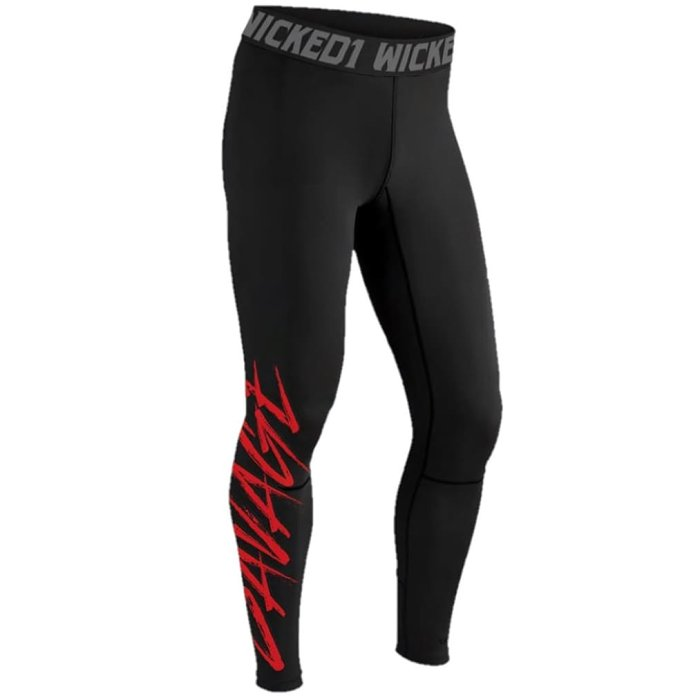 Wicked One Compression Spats Savage